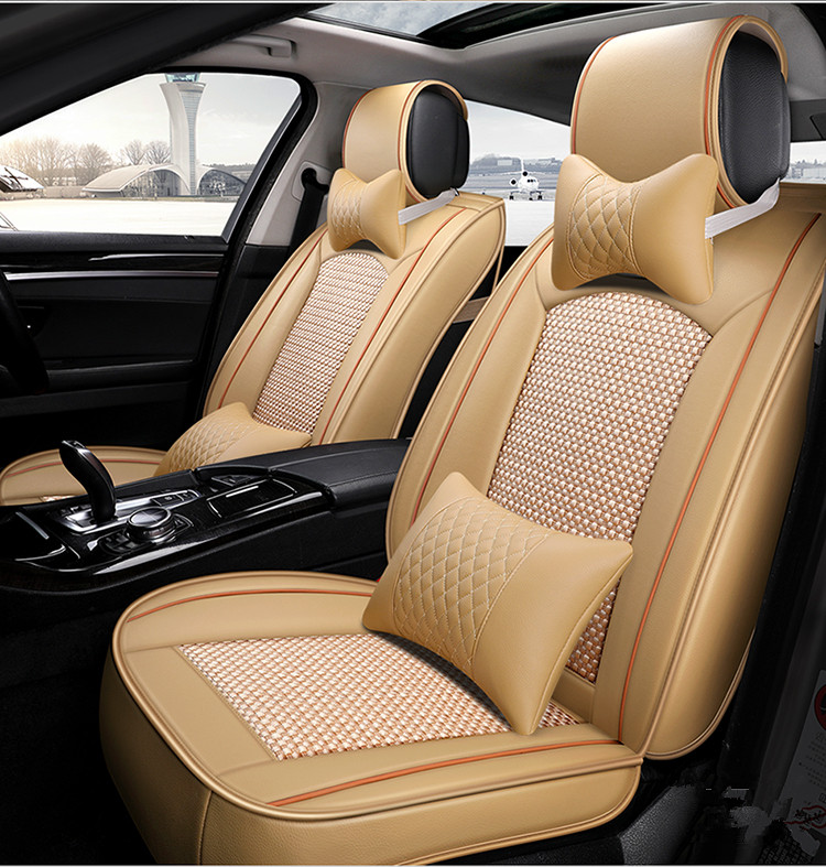 2018 Newly! Full Set Car Seat Covers For Ssangyong Rexton