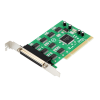 PCI to 8 Ports Serial Card RS232 Adapter DB9 COM Port SYSBASE 1058 Chipset Expansion Cards w/ Cable