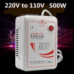 Image 1 - Inverter Charger AC 220v to 110v Voltage Transformer Step Down Converter Voltage Converter 500 Watts Adapter Pure Copper Coil