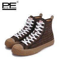Pathfinder 2018 Для мужчин; Вулканизированная обувь Человек высокого Стиль 5 цветов повседневные туфли в стиле ретро удобная обувь на плоской подо