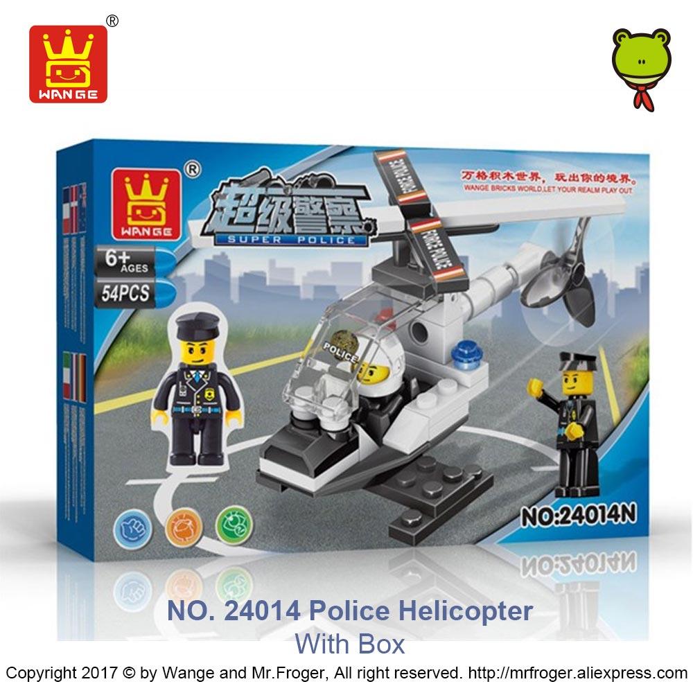 online shop wange bricks super police figures compatible building
