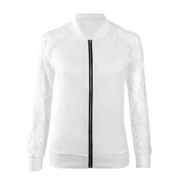 KANCOOLD 2018 осеннее пальто длинный рукав кружева Женский блейзер повседневные куртки пальто Верхняя одежда Feminino верхняя одежда PJ0814