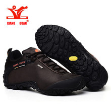 XiangGuan 2016 oxford fabric man army green outdoor sports shoes top quality shoes sales climbing sneakers size 36-45