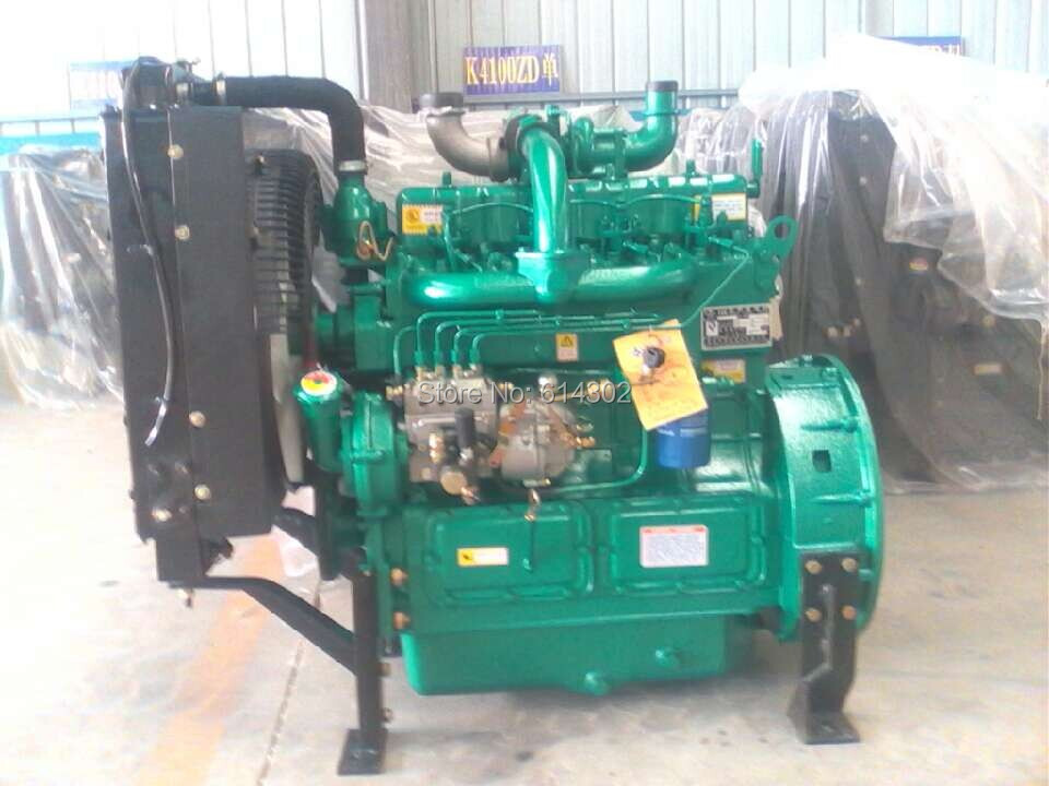 weifang K4100ZD diesel engine 41kw for generator China sale