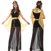 Halloween Ancient Egypt Great Egyptian Palace Cleopatra Queen Dress Cosplay Dancer Party Show Nightclub Costume Stage Wear(China)
