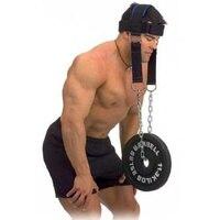 Cabeça e pescoço ombro carga Cabeça Harness Belt Neck Weigeht Levantamento Força Exercício Fitness Equipment