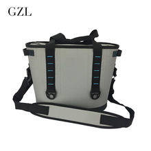 GZL New Gray Waterproof Cooler Bag Large Meal Package Lunch Picnic Bag Insulation Thermal Insulated  20