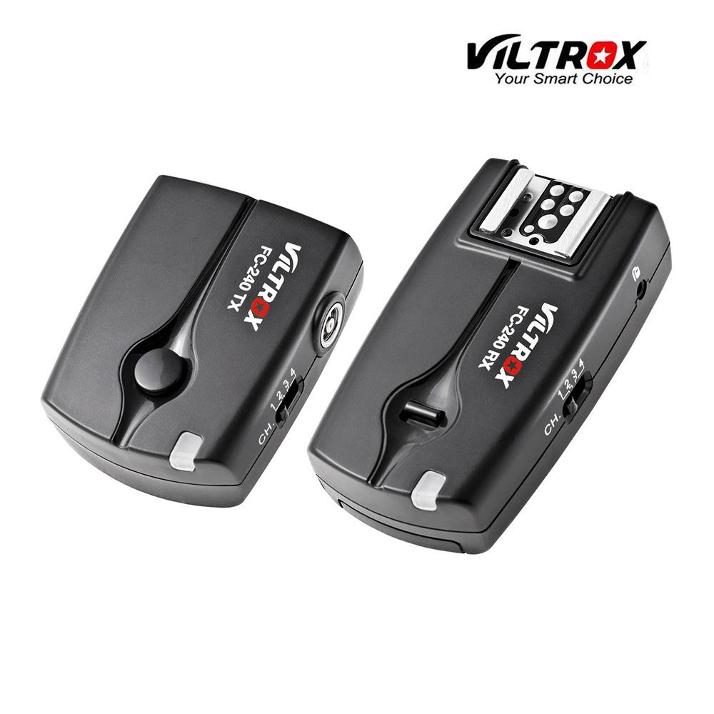 Prix pour Viltrox fc-240 sans fil à distance déclencheur flash déclencheur appareil photo pour nikon d800/d800e/d700/d300/d200/d3s/d300s dslr