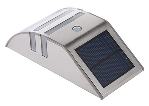 Image 2 - 4 Sets LED Solar Power Lamp PIR Motion Sensor Wall Light Outdoor Waterproof Energy Saving Street Garden Yard Security Lamp