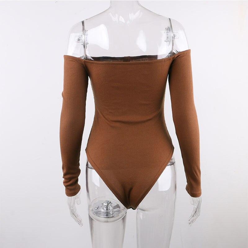 off shoulder bodysuit women13