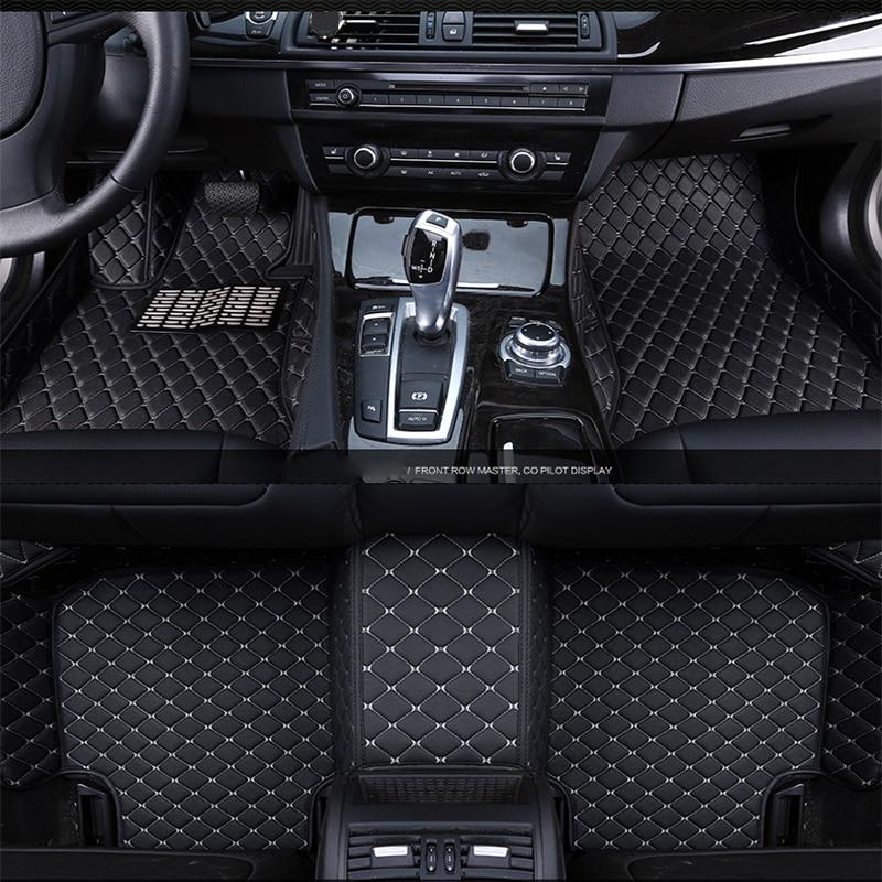 Car <font><b>floor</b></font> mats for <font><b>Jeep</b></font> <font><b>Grand</b></font> <font><b>Cherokee</b></font> Wrangler 2017 2016 2015 2014 2013 2012 2011 2010 2009 custom mat accessories