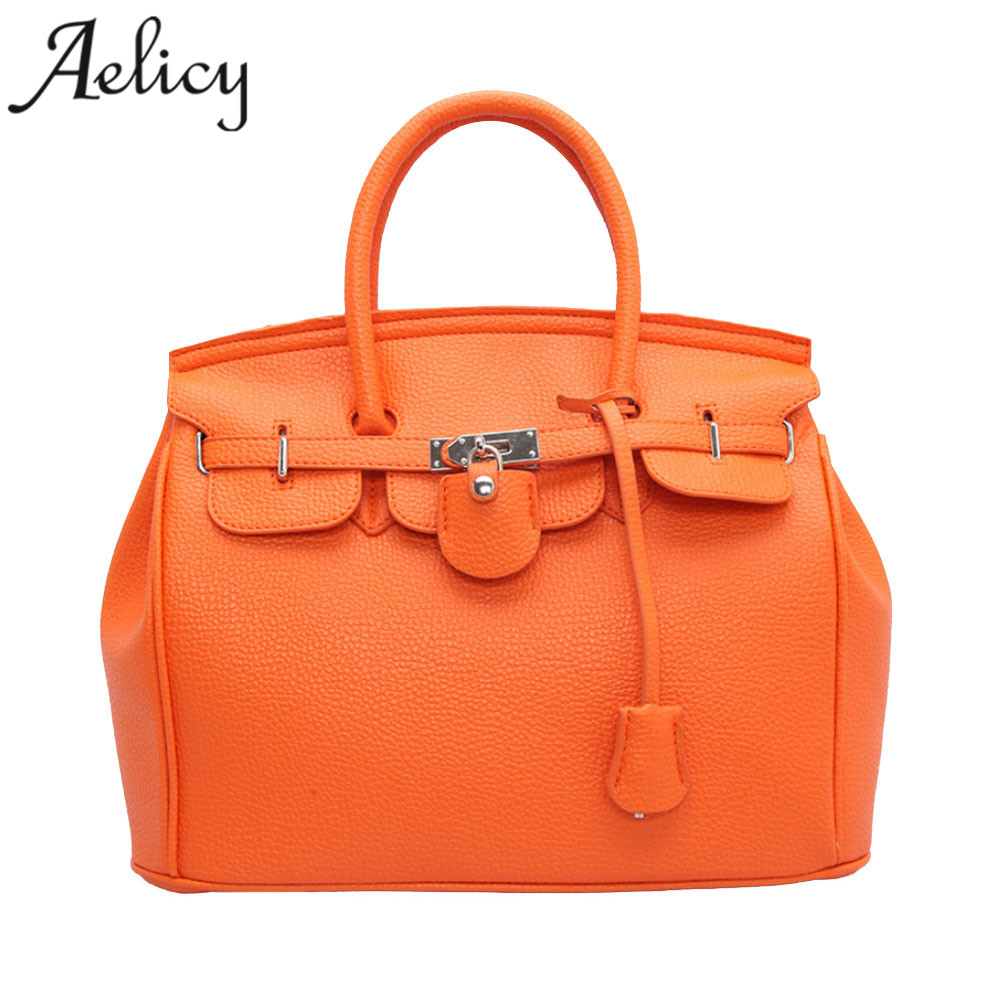 Aelicy luxury new zipper package Europe and the United States mobile handbag litchi pattern platinum handbag shoulder bags hot fashion europe and the united states fashion oil wax kraft handbag vertical section zipper multi color ladies shoulder messe