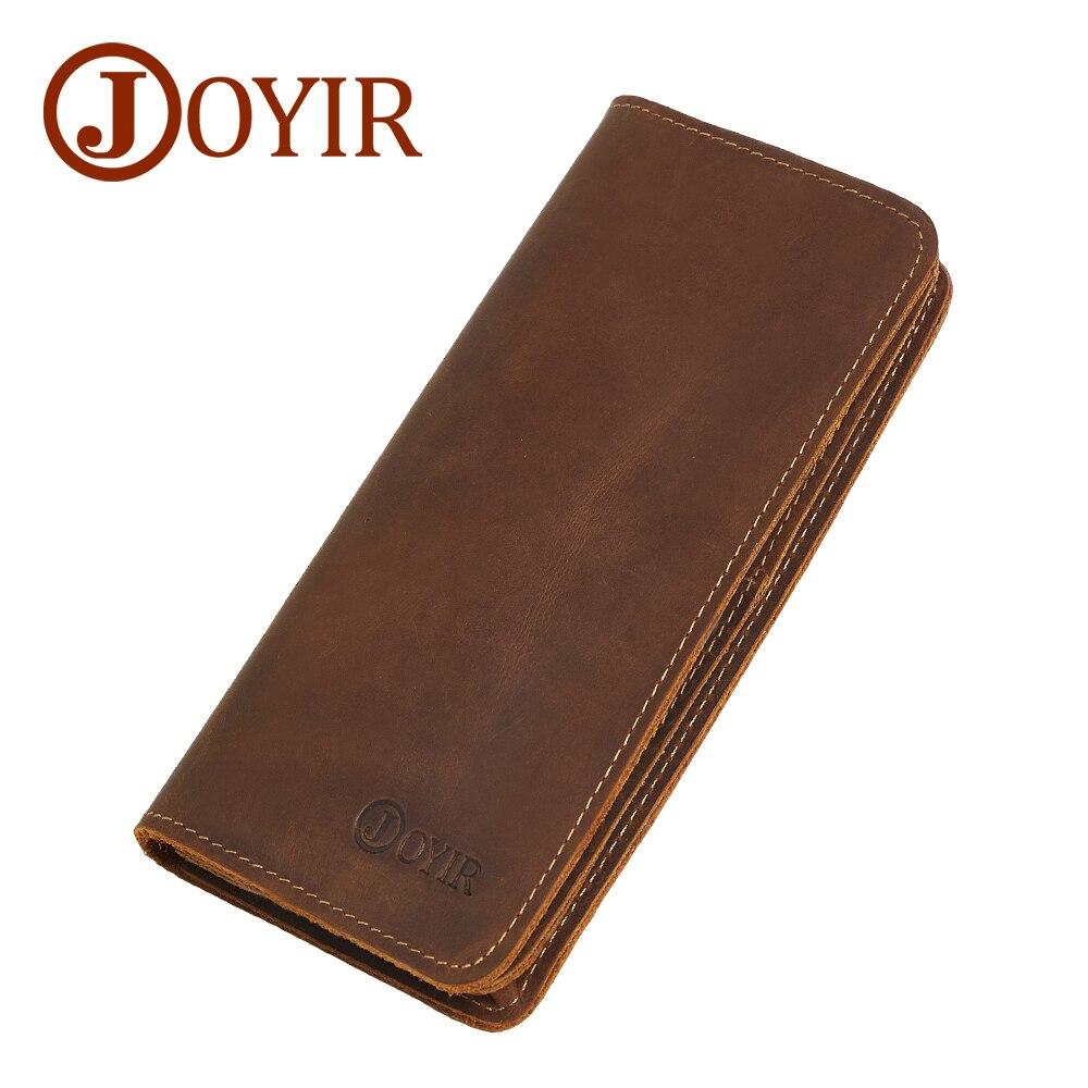 JOYIR Designer Men Clutch Bags Genuine Leather Men Wallets Zipper Multifunction Wallet Male Coin Purse Men Leather Card Holder