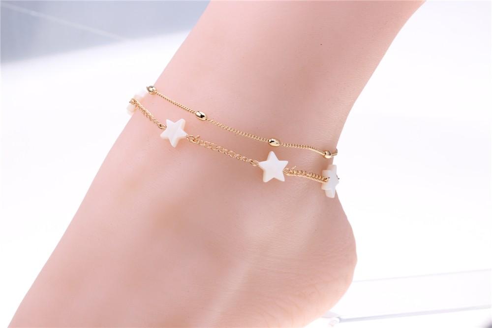 HTB1k.1ANpXXXXcnXFXXq6xXFXXXy Women's Fashionable Ankle Bracelet Foot Jewelry - Many Styles