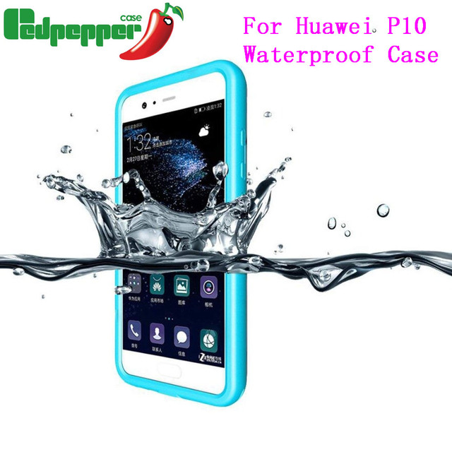 new styles 37b2e d9938 US $12.59 40% OFF|For Huawei P10 Waterproof Case Cover Shockproof Swimming  Diving Phone Outdoor Full Phone Case holder For Huawei P10-in Fitted Cases  ...