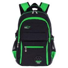 Kinder Orthopädischen Schultasche Belastung Reduktion Geschickt Und Strapazierfähigem Nylon Schultasche Für Jugendliche Großraum Rucksack