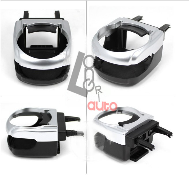 Auto Car Cup Holder Tray Mount Food Table Meal Desk Stand