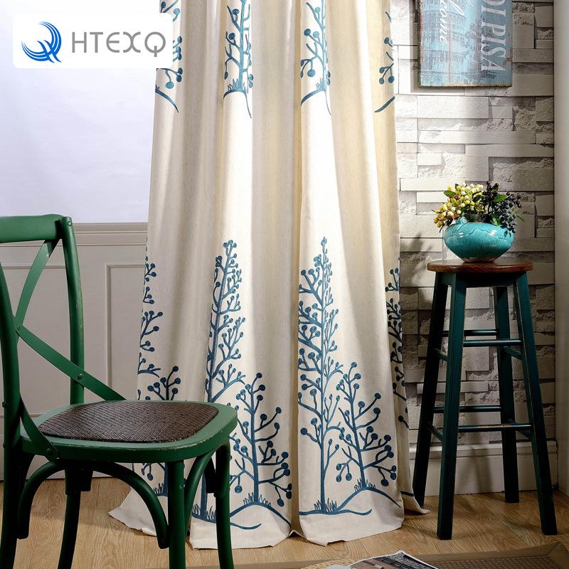 envo libre moderno estampado floral saln cortinas cortina de ventana de la sala de estar las