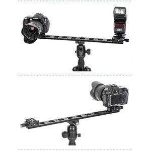 """Image 4 - Manbily PU 480 Verlengen Snelle Montageplaat 1/4 """"Universele Statief Quick Release Plaat Mini Glijbaan Voor Dslr Camera 480x38x10mm"""
