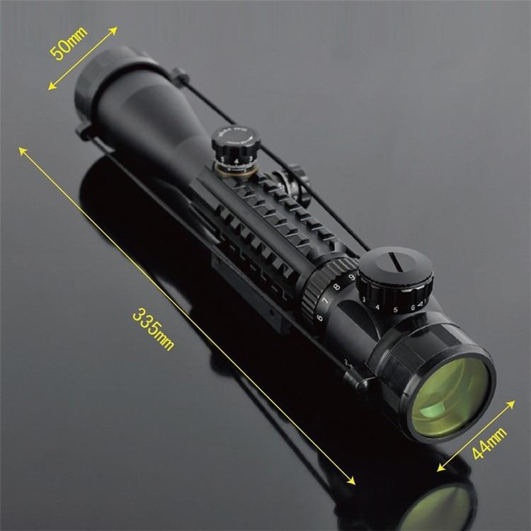 US $36 85 10% OFF|New Tactical Night Vision C3 9X40 LLL Rifle Scope Air  Rifle Gun Riflescope Hunting Telescope Sight High Reflex SNIPER Scopes-in