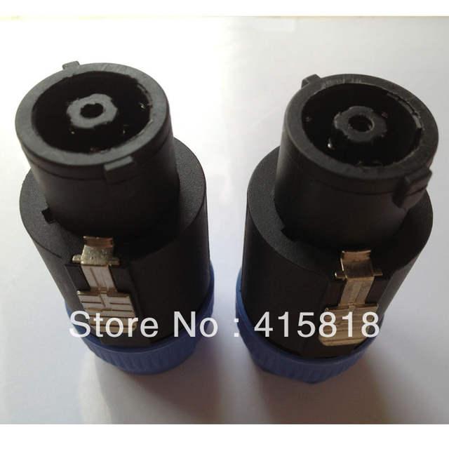 Online Shop 10Pcs/lot NL8 8-Pole Speakon Connector NL8 Female Audio