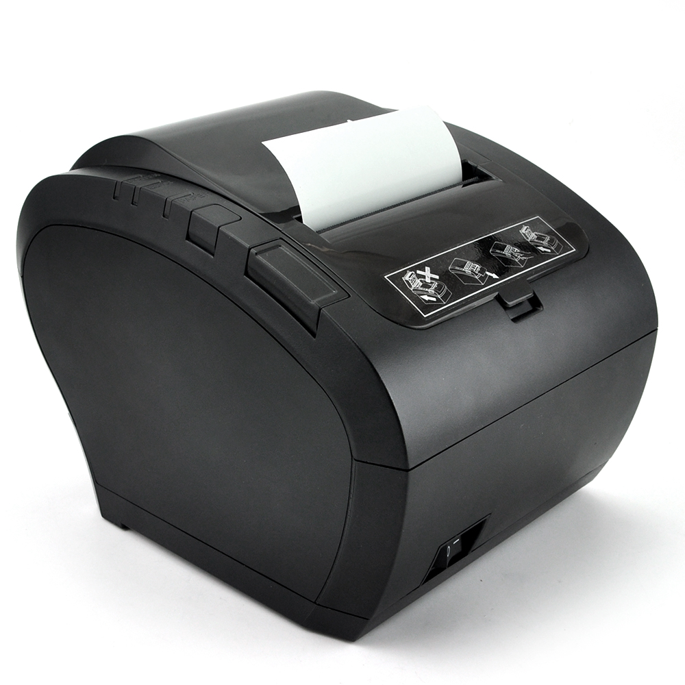 GZ8002 80mm Thermal Receipt Printer Automatic cutter Restaurant Kitchen Supermarket Printer USB+Ethernet+Wifi Bluetooth printer 80mm thermal receipt printer automatic cutter restaurant kitchen super market pos printer usb ethernet printer