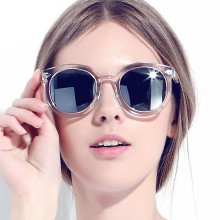 New Arrival Female Round Sunglasses Women Brand Designer 2017 Vintage Retro Sun Glasses For Women So Real Sunglass Lady Eyewear