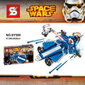 2016 New Star Wars The Force SY500 Despierta Anakin Jedi Starfighter de Encargo del Regalo de Bloques de Construcción Ladrillos Juguetes Kits Compatible