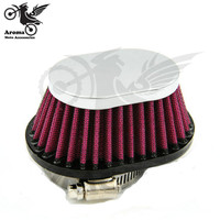 39MM 42MM 45MM 48MM 50MM 52MM 54MM top quality uvniersal moto air cleaner for harley air filters systme motorcycle air filter