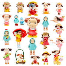21 Style Miyazaki Anime My Neighbor Totoro Mei May Figures Resin Action Figure Toys Collection Model Kids Toy for Garden Decor