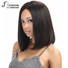 Joedir Short Bob Wig Remy Lace Front Human Hair Wigs For Black Women 10 12 Inch Brazilian Straight Hair Wig Free Shipping