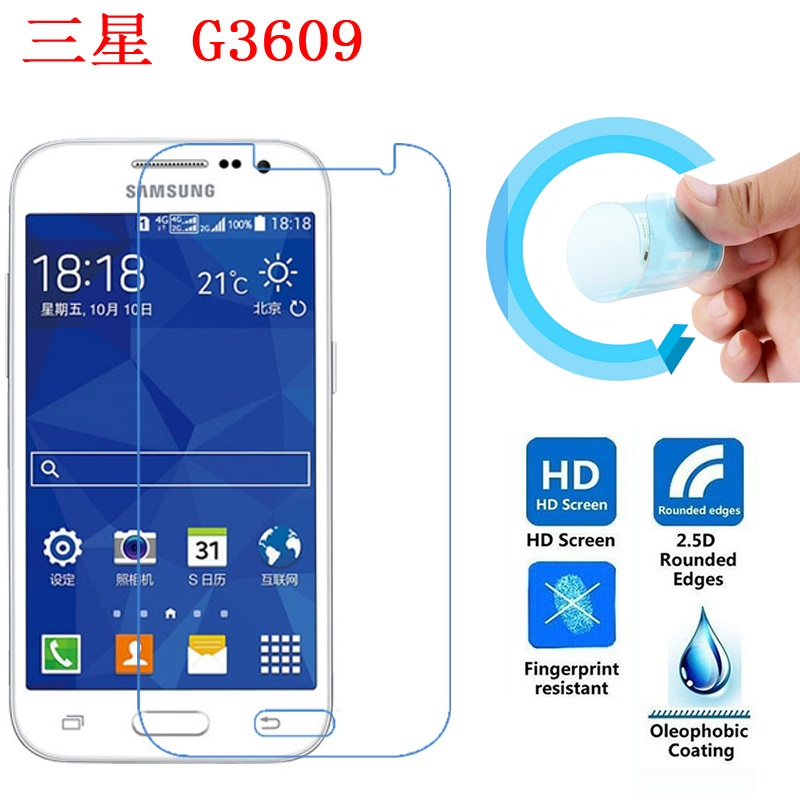 Protective Ultra-Thin Soft Pet Screen Protector Film for Samsung Galaxy Core Prime G360G/H/M/F/P/V G3606/08/09 G360FY/GY/AZ
