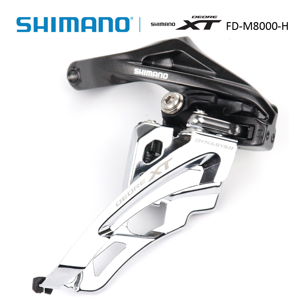 SHIMANO Deore XT FD M8000 3x11s Side Swing Front Derailleur High Clamp MTB Mountain Bike Front