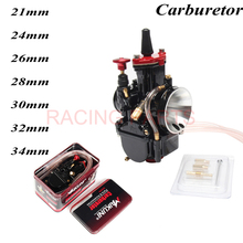 Universal PWK 21 24 26 28 30 32 34mm Carburetor for Maikuni Carb With Power Jet Scooters Motorcycle ATV Quad Dirt bike