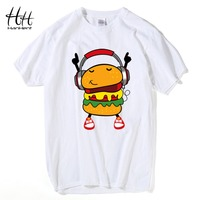 HanHent DJ Hamburg T Shirts Funny Man S Personality Cotton Loose Summer Style Tshirts Music Cute