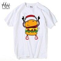HanHent DJ Hamburg T Shirts Funny Man S Personality Cotton Loose Summer Style Tshirts Music Cute