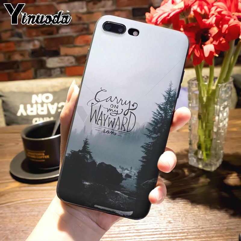 Yinuoda Supernatural Jared Padalecki KAZ 2Y5 Nuovo Telefono di Arrivo Ultrasottile per il iphone 7plus X XS XR XS MAX 6 6S 7 8 8 Più Il caso di 5