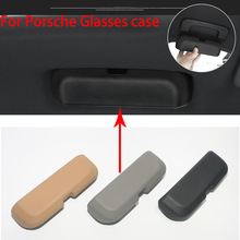 Original Car styling Sunglasses storage Box Sunglass Eye Glasses Holder Box Case For Porsche Macan Cayenne Panamera