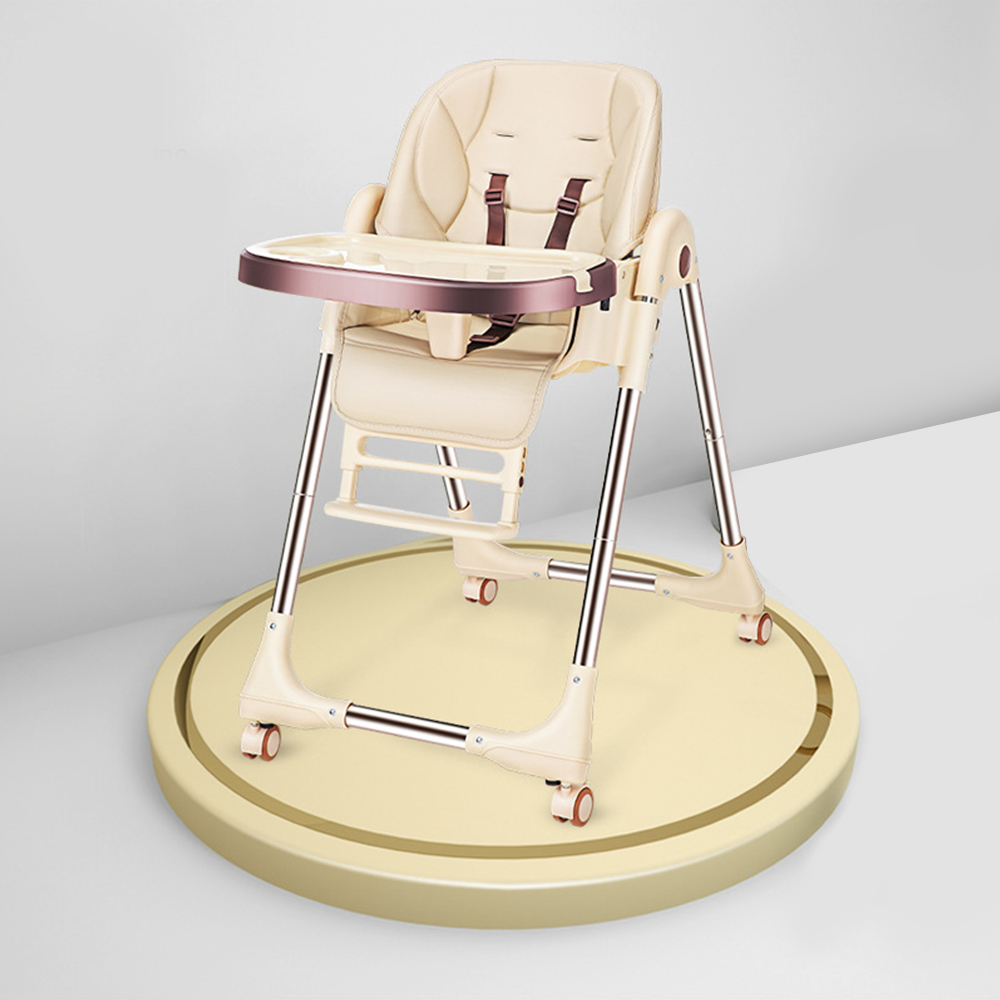 Foldable High Chair For Feeding Adjustable Baby Chair Fold Baby Seat  Breastfeeding Booster Seat Children Portable Dining Tables