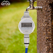 Automatic Electronic Watering Irrigation System Garden Plants Sprinkler LCD Drip Timer Home Ball Valve Water
