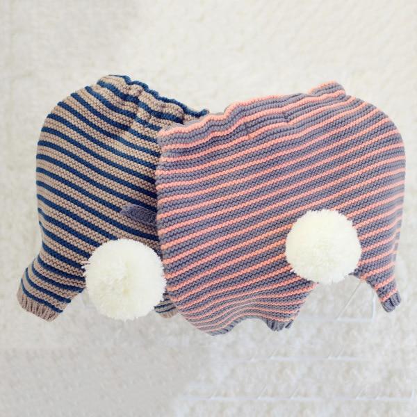 New 2015 Autumn Wool ball Girl Pant Sweater Kids Pants Casual Baby Girl Pants Children Clothing Pocket Shorts Baby Knit Pants