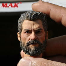 Newly 1:6 Scale Hugh Jackman Logan Head Sculpt Male Models suitable for 12 Action Figure