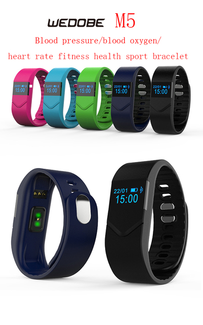 M5 Smart bracelet bluetooth fitness activity tracker smart band for Android and IOS smartphones