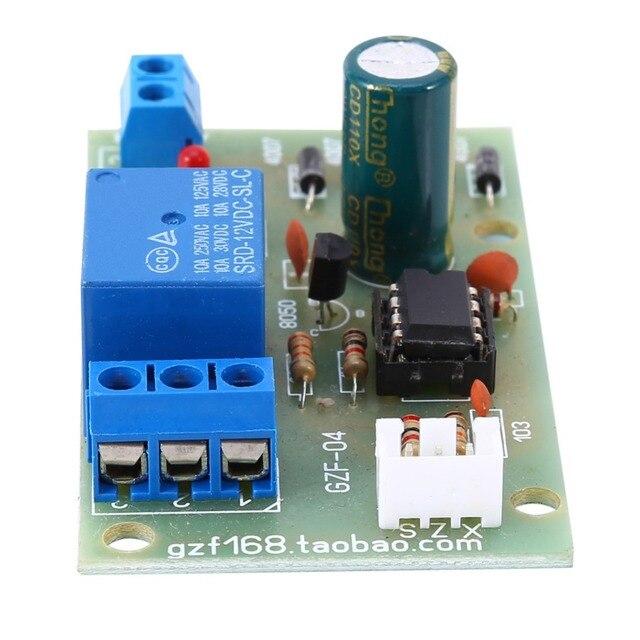 12V Electric Liquid Level Controller Sensor Module Water Level Detection Sensor Board Fuel Flow Sensor Water Flow Switch
