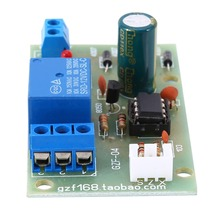 Módulo controlador de nivel de líquido eléctrico, 12V, Sensor de detección de nivel de agua, tablero, Sensor de flujo de combustible, interruptor de flujo de agua