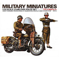OHS Tamiya 35084 1/35 US Military Police Set Miniatures Assembly Military figures Model Building Kits