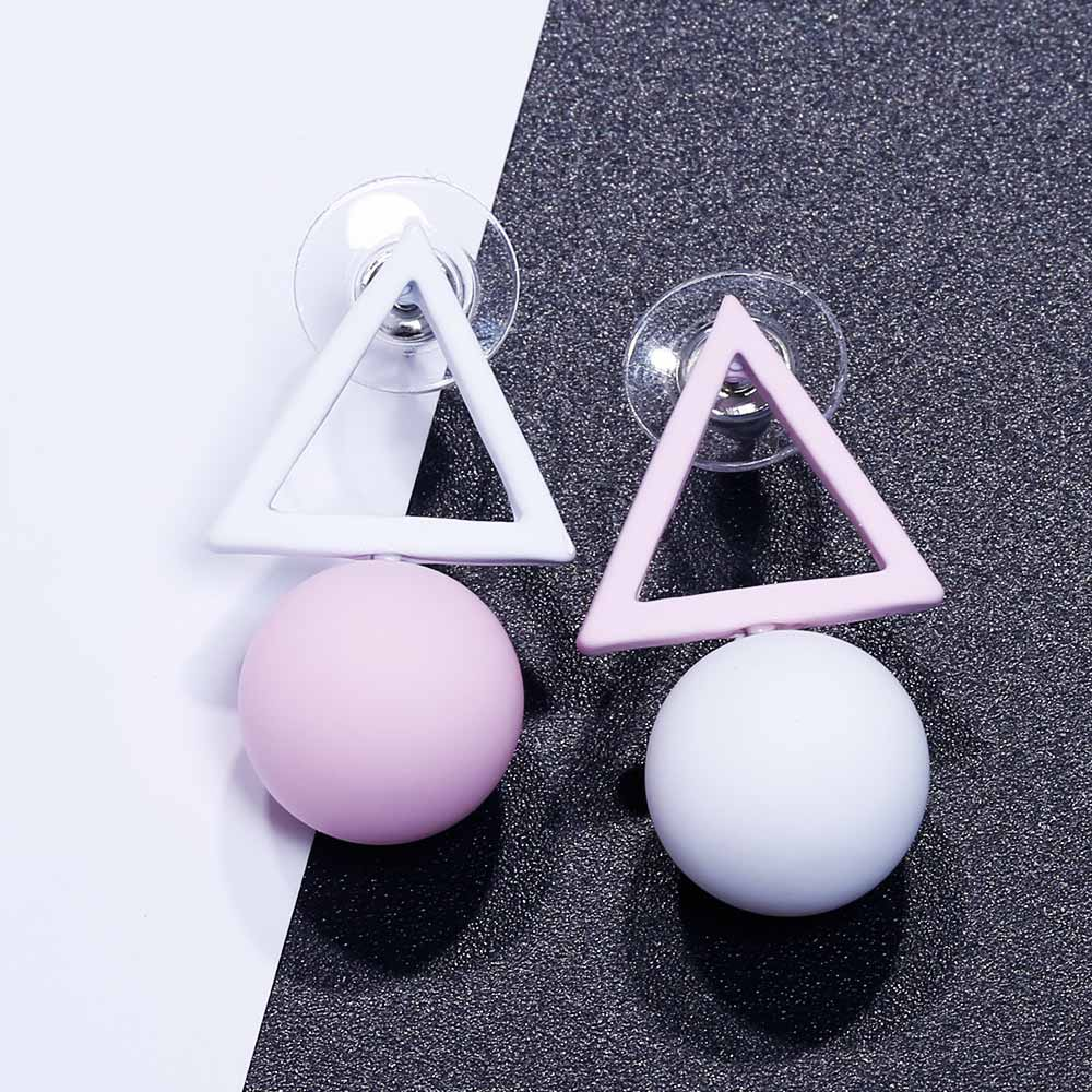 HTB1k.52QsbpK1RjSZFyq6x qFXaO - FAMSHIN Fashion Triangle Different Candy Color Simulated Pearl Earrings For Women New Trend Earrings Jewelry Party Gift