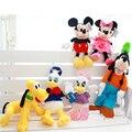Kawaii Mickey Mouse Minnie Mouse Plush Toys Donald Duck Daisy Duck Plush Toys and Goofy Pluto Plush Children Toys