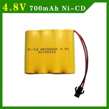 4.8 V 700mAh NI-CD Remote Control Toys Electric toy security facilities electric toy AA battery battery group