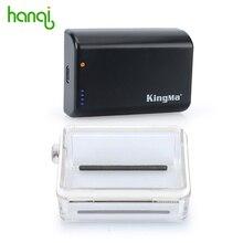 KingMa caliente 2500 mAh 3.8 V Batería + Go pro GoPro Bacpac Batería Puerta trasera Puerta Trasera Impermeable Cubierta de la Caja Para GoPro Hero 4 3 3 +